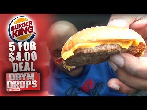 burger king 5 for 4 deal youtube