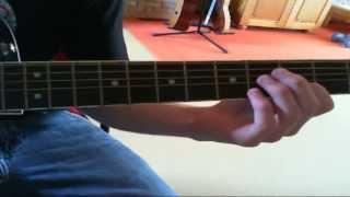 """Wie spiele ich """"Sweet Sweet Gwendoline"""" (Die Ärzte) auf Gitarre? [Intro]"""