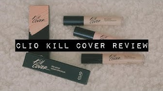 REVIEW: Clio Kill Cover Pro Artist Liquid Concealers