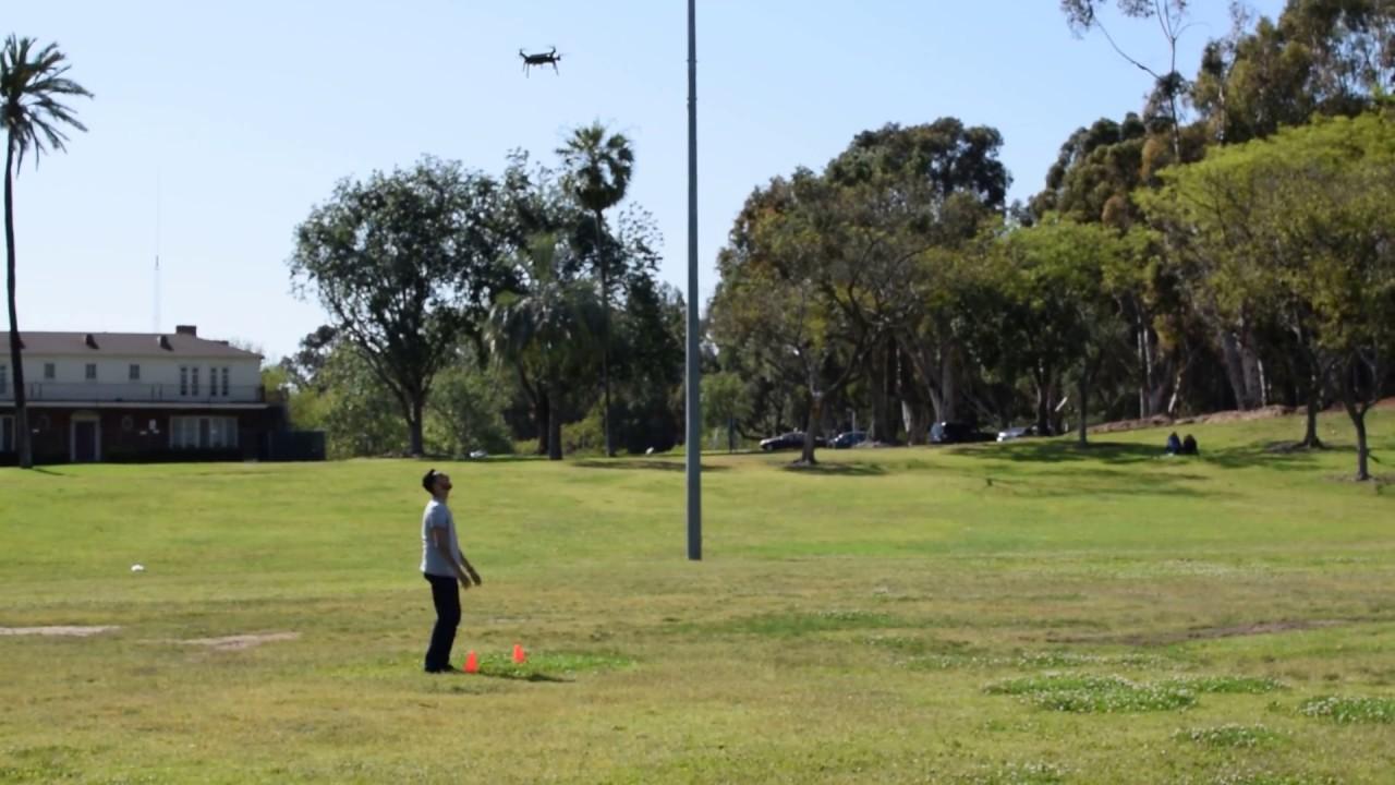 Autonomous 3DR Drone - GPS Waypoints w/ Raspberry Pi (Test #3)