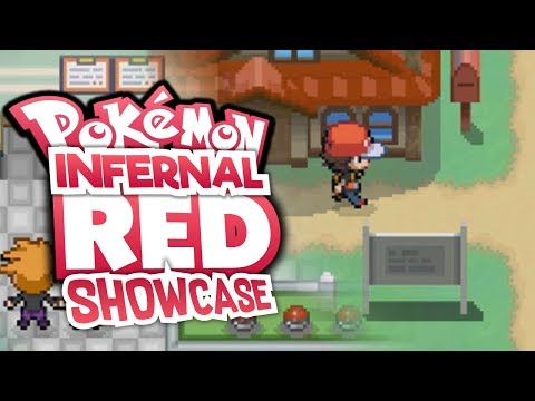 NEW FIRE RED REMAKE!? Pokémon Infernal Red - Pokemon Fan Game - GAMEPLAY and Download