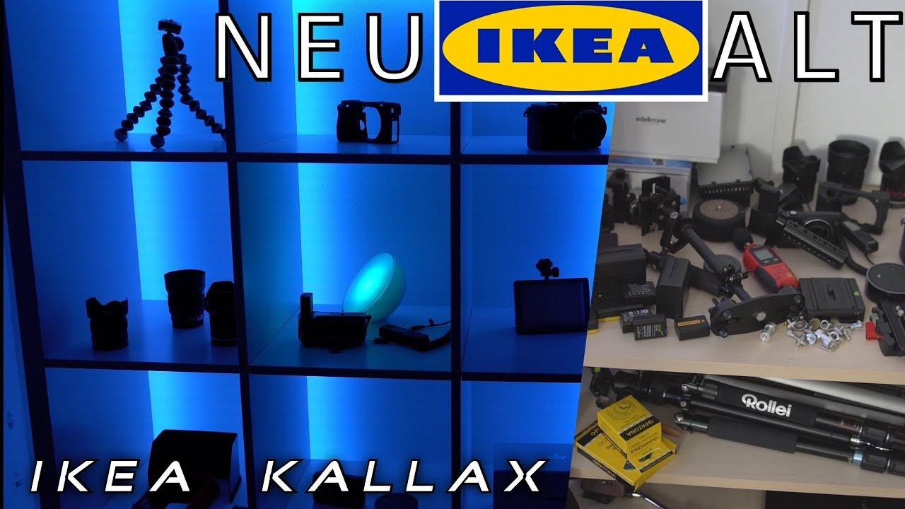 cheaper 8bfcd 96848 Ikea 🗃 Kallax 👍🏼 schwedisches Wunder 👱🏽♀️👦🏼/ günstiges TechnikRegal  + LED Strips 2x5m ALEXA