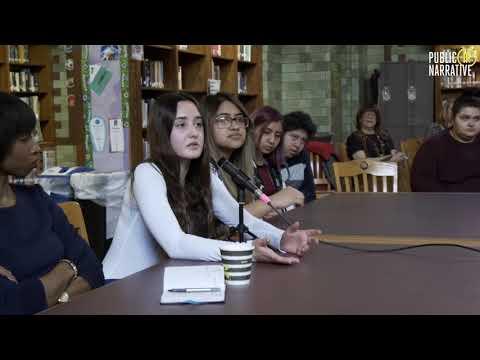 News Literacy Talk Back at Carl Schurz High School