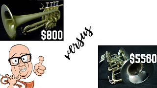 Can you hear the difference?  $800 piccolo trumpet versus $5500 piccolo trumpet