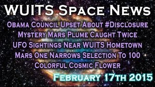 John Podesta Upset About #Disclosure, Mystery Mars Plumes - WUITS Space News
