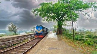 Chitra Express Passing AMazing Beauty pakshi railway Station