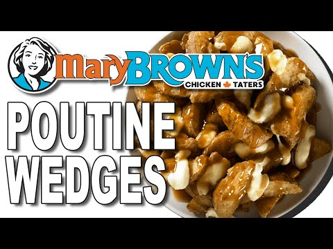 Mary Brown's Poutine Wedges