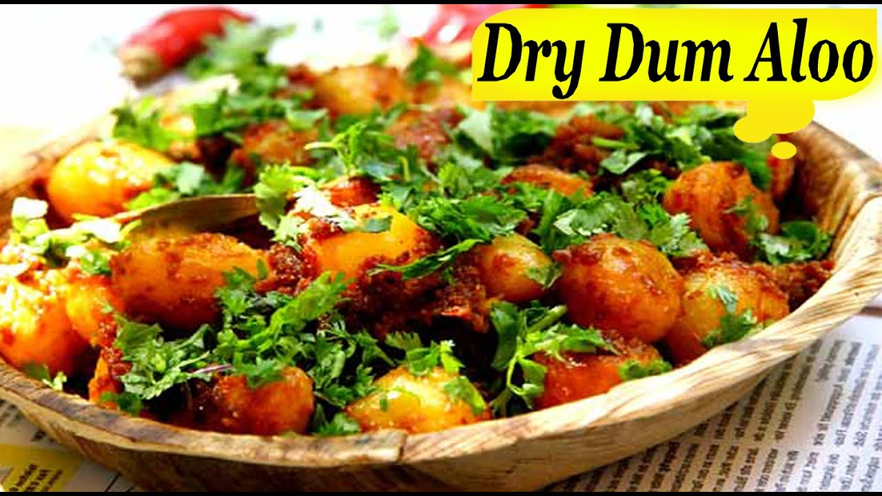 Dry dum aloo recipe north indian punjabi dish new youtube forumfinder Images