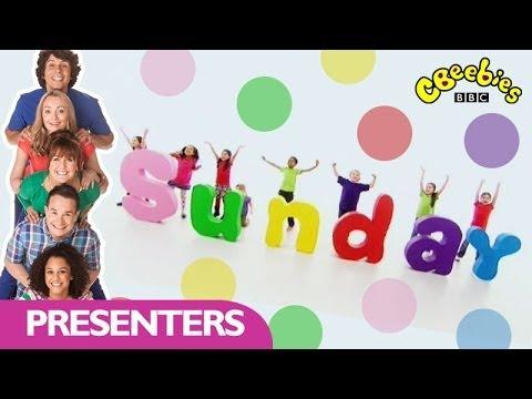 CBeebies: Presenters - Days of the Week - Sunday