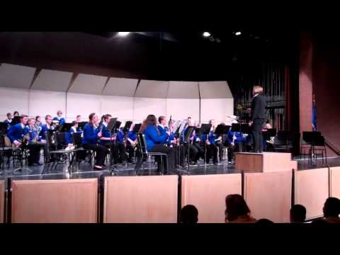 Under the Rice Moon by Victor Lopez - Traeger Middle School 8th Grade Band