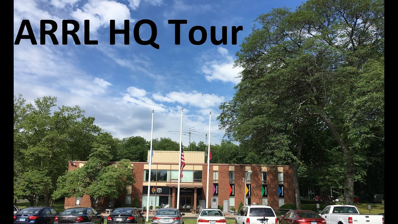 ARRL HQ Tour and Operating W1AW [ Video ]