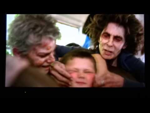 Kellen being eaten by witches