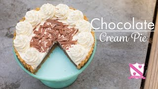 Mary Berry- Chocolate Cream Pie - In The Kitchen With Kate