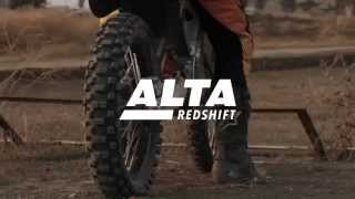 2015 Alta Motors RedShift MX & SM on the track