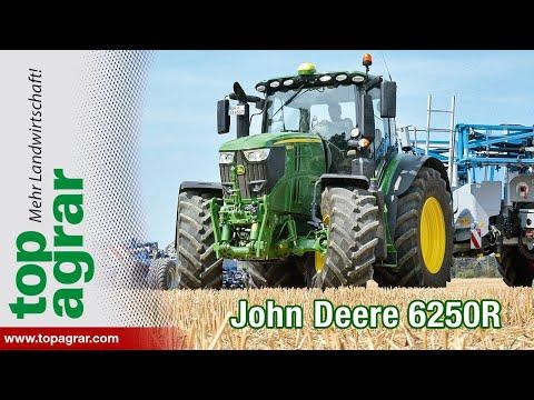 1/2  John Deere 6R im top agrar-Systemvergleich