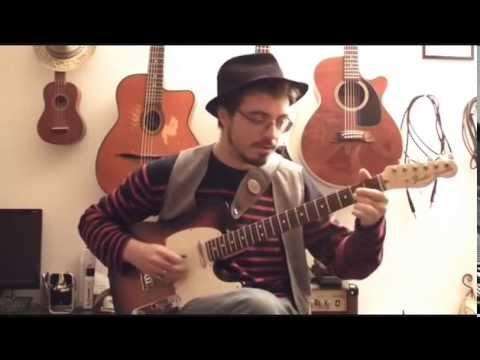 Improviser sur un Chicago Blues - Tuto guitare électrique type Muddy Waters