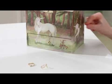 Unicorn Musical Treasure Box by Enchantmints, from Reeves International