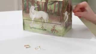 Unicorn Musical Treasure Box by Enchantmints, from Reeves Inte…