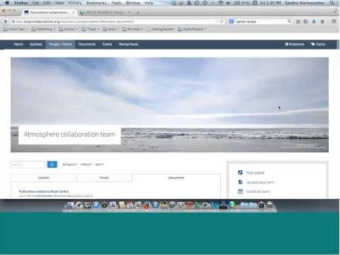 Interagency Arctic Research Policy Committee - Atmosphere Collaboration Team Meeting