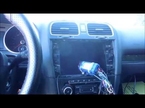 HOW TO INSTALL OR REPLACE STEREO IN VOLKSWAGEN GTI MARK 6 20