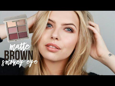 MATTE BROWN PLUM SMOKEY EYE | ILIA BEAUTY COOL NUDE PALETTE || CLEAN BEAUTY MAKEUP TUTORIAL thumbnail