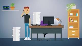 Анимационный ролик с персонажной анимацией