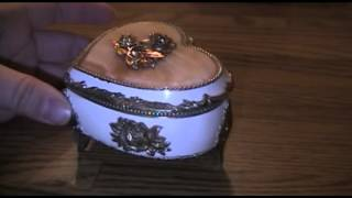 Blue And Heart Sankyo Music Boxes For Sale On Ebay