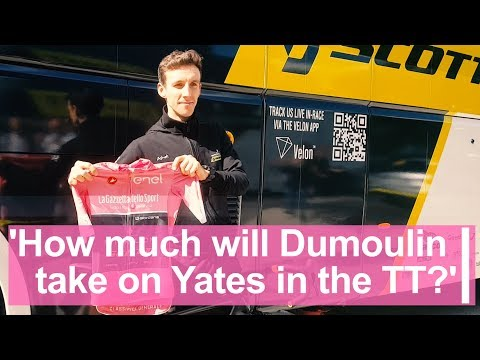 'How much time will Dumoulin take on Yates in the TT?'