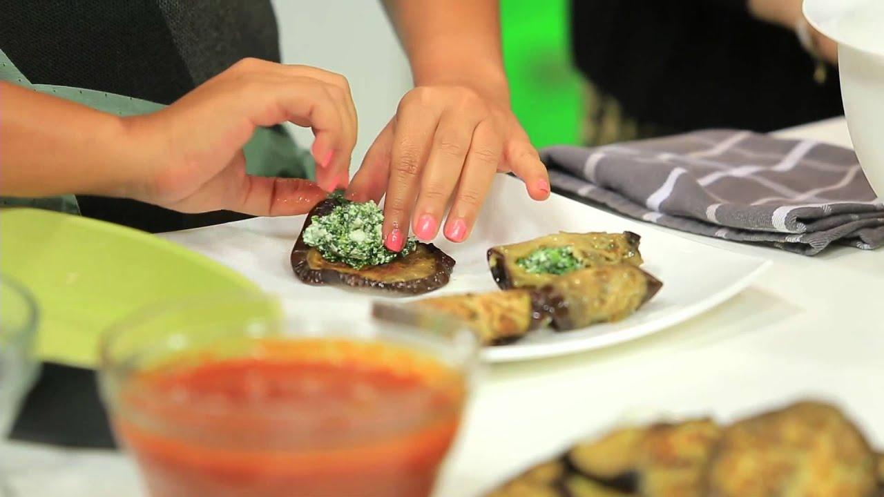 برام أرز بالدجاج و الكريمة - باذنجان محشي جبنة ريكوتا و سبانخ : نص مشكل حلقة كاملة