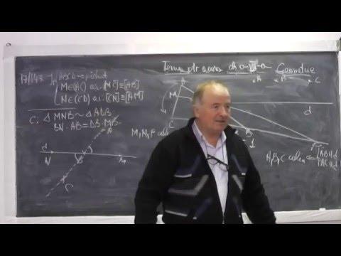 1/2 Lectia 822 Th. fundamentala asemanarii, Menelaus, Ceva, Cazuri congruenta triunghiurilor Clasa 7