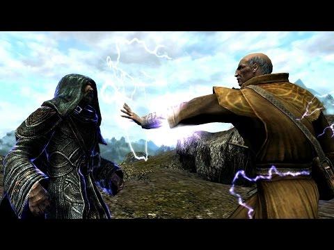 Skyrim Battles - The Greybeards vs The College of Winterhold [Legendary Settings]