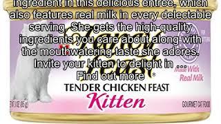 Purina Fancy Feast Tender Chicken Feast Wet Kitten Food - Twenty-Four (24) 3 oz. Cans