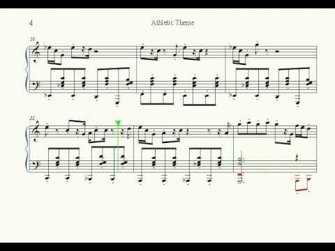 Athletic Theme Sheet - YouTube