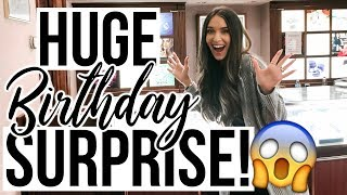 HUGE BIRTHDAY SURPRISE! (What I Got For My Birthday VLOG)
