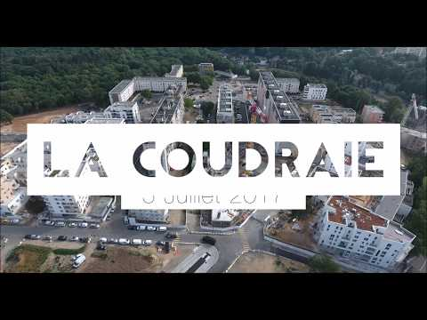 Quartier Poissy-La-Coudraie - Vue aérienne par drone