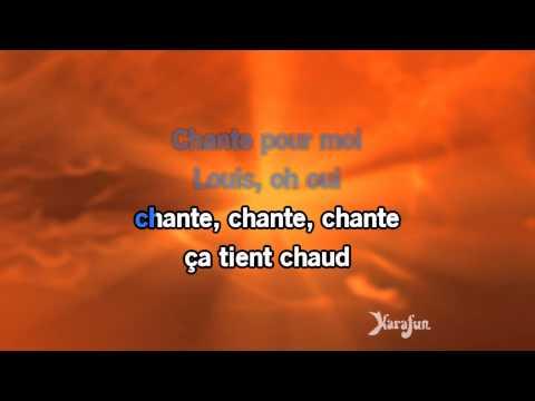 Karaoké Armstrong - Claude Nougaro *