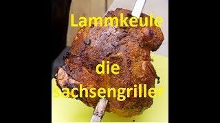Lammkeule - aus dem Plettgrill - die sachsengriller