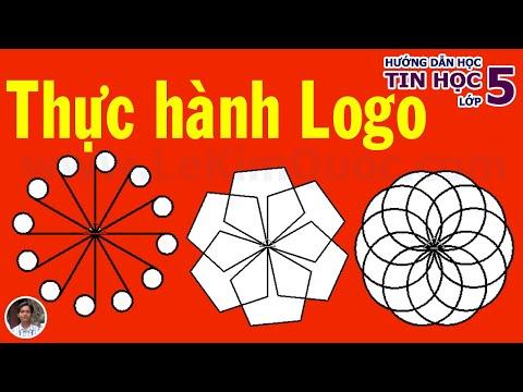🐢 Hướng dẫn thực hành phần mềm Logo 🐢 Chủ đề 4 🐢 Tin Học Lớp 5
