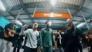 "Dubioza kolektiv & La Pegatina ""Hay libertad"" - Train station acoustic version"