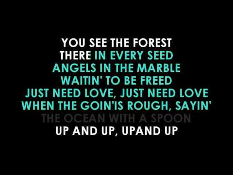 Coldplay Up And Up karaoke  | GOLDEN KARAOKE