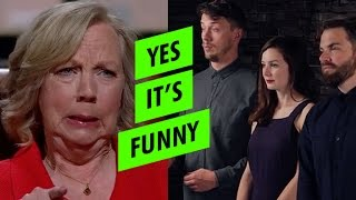 Yes it's Funny appear on Dragons' Den (Shark Tank)