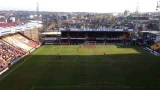 Bradford vs Oldham 28/3/2015
