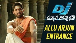 DJ Duvvada Jagannadham Scenes - Allu Arjun Entrance Scene