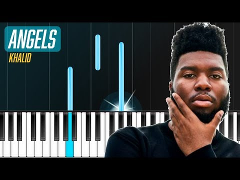 "Khalid - ""Angels"" Piano Tutorial - Chords - How To Play - Cover"