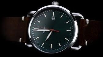 Review đồng hồ Fossil FS5540 kim chỉ trắng dạ quang nổi bật trên mặt xanh
