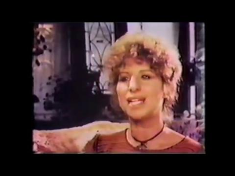 """Barbra Streisand - """" A Star is Born 1977 interview."""