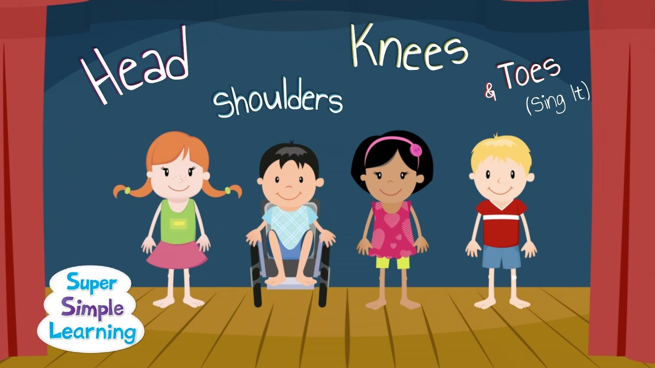 Image result for Head, Shoulders, Knees & Toes