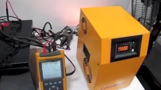 видео Инвертор CyberPower CPS 7500 PRO