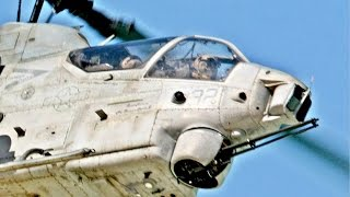 First US Military 360 Video of the AH-1Z Viper Military Helicopter Aircraft