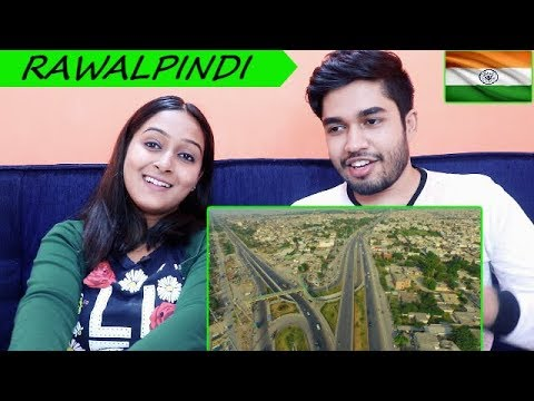 INDIANS react to RAWALPINDI travel vlog